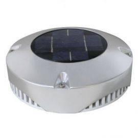 Solcelle ventilation rustfrit stål ø20cm