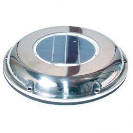 Ventilator med solcelle ø220mmindø:117mm højde 35mm overdæk