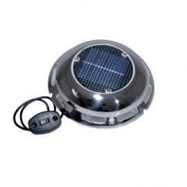 Solcelle ventilator rf m-kontrol panel og u-batteri