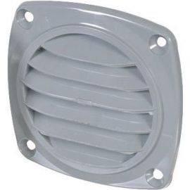 Ventil plast Ø85mm grå