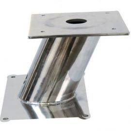Radarmast universal rustfrit stål h-16cm