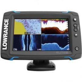 Lowrance elite 7ti med totalscan transducer