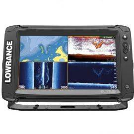 Lowrance elite 9ti med totalscan transducer