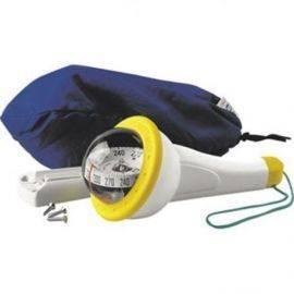 Iris 100 pejlekompas gul  med lys