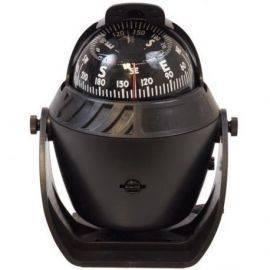 1852 kompas sort ø70mm m-bøjle lys& kompensator