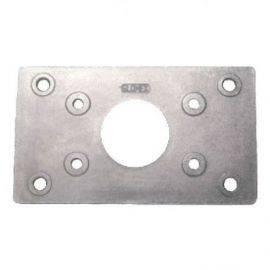 Rustfri forstærker plade t-114295