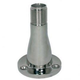 Antenneholder for dæksmontering i rustfrit stål