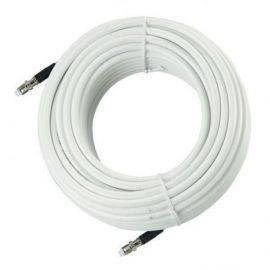 Vhf kabel rg8x low loss 50 ohm med fme stik - 12 meter