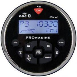 Ltc pro 1111bt rund marineradio sort-chrom