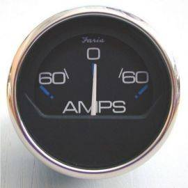 Ampmeter 60-0-60 chessort ss