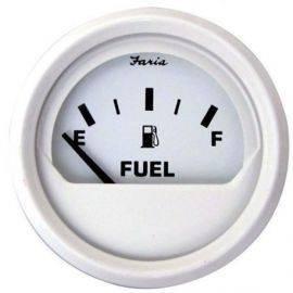 Brændstofmåler hvid