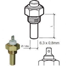 Vdo sensor temp kølvand 6-24v 1-4-18nptf