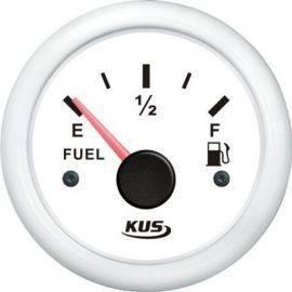 Kus brændstofmåler hvid 0-190ohm 12/24v