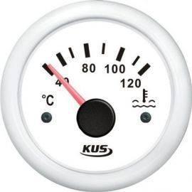Kus kølvands temperatur hvid 40-120gr 12-24v
