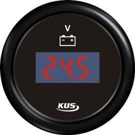 Kus digital voltmeter 9-32v sort 12-24v