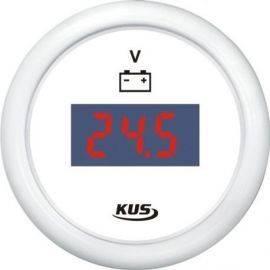 Kus digital voltmeter 9-32v hvid 12-24v