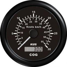Kus gps speed 0-60knob sort 12-24v