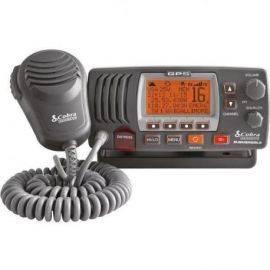 Cobra vhf radio mrf77 med GPS sort