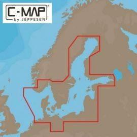 """C-map Y299 Reveal, Danmark """"kun ved køb af plotter"""""""