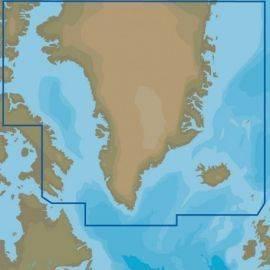 """C-map y405 grønland """"kun ved køb af plotter"""""""