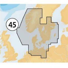 Navionics platinum-dkmsd-kortkun ved køb af plotter
