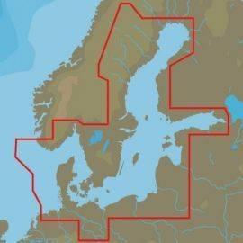C-map max y-299 danmark w85 m-autorute