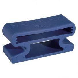 Bedflex gummi holder blå