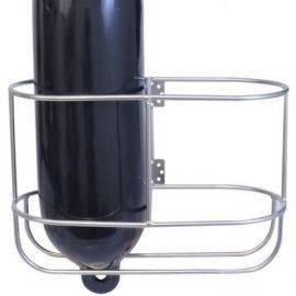 Fenderholder lige til 2 fender ø225mm rustfrit stål ø8mm