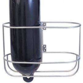 Fenderholder lige til 2 fender ø315mm rustfrit stål ø8mm