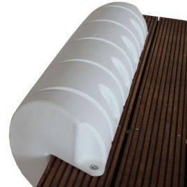 Majoni Kajfender hvid lige 110cm