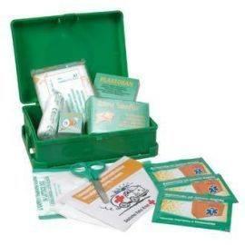 Førstehjælp sæt i kasse