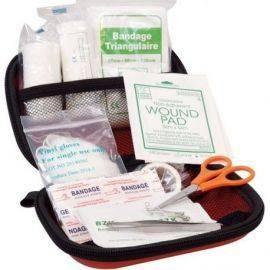 Førstehjælp sæt i taske