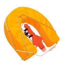 Hestesko gul med nødlys & RF holder