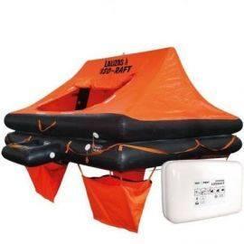 Lalizas iso 9650-1 redningsflåde i container til 6 personer