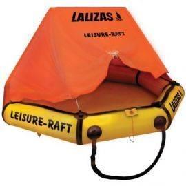 Lalizas 4 personer fritids redningsflåde i taske