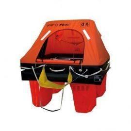 Waypoint iso 9650-1 redningsflåde 4 personer i taske