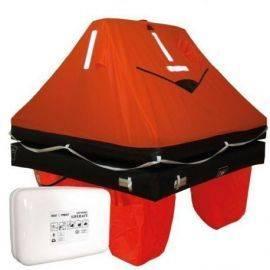 Waypoint iso 9650-1 redningsflåde 4 personer i container