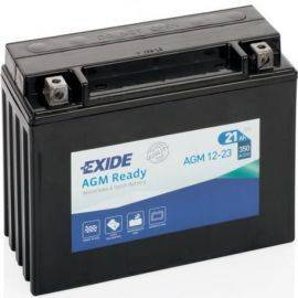 Batteri exide forseglet agm 21 ah start205x86x162 mm