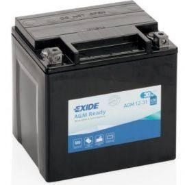 Batteri exide forseglet agm 30 ah start166x126x175 mm