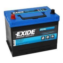 Exide Batteri Nautilus 80 ah. dual
