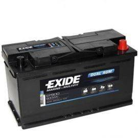 Batteri dual agm  680 cca - 60 ah