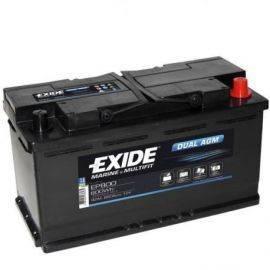 Exide Batteri dual AGM 680cca - 60Ah