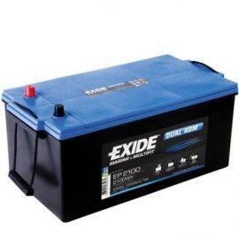 Exide Batteri dual AGM 700cca - 140Ah poler i samme ende