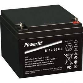 Batteri exide powerfit hvr dual agm  26ah