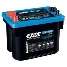 Exide Batteri dual AGM spiral 750 cca - 50 ah. gevind