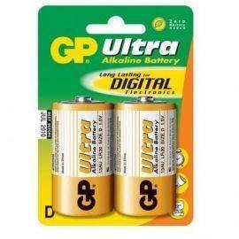 Batteri lr20 stor 15v  2 stk