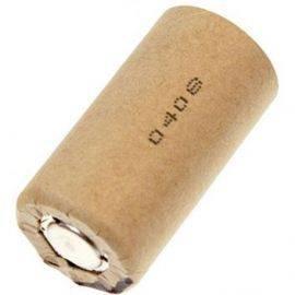 Panasonic Sub C batteri genopladelig, 3000mah 1.2v