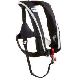 1852 aero Plus vest ISO 165N pro sensor sort med harness & l