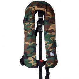 Camouflage iso 165n vest m-fleece & uml pro