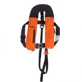Seapro iso 165n industri arb. pvc/cordura vest med harness h